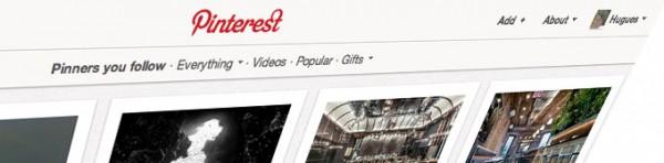 Homepage Pinterest